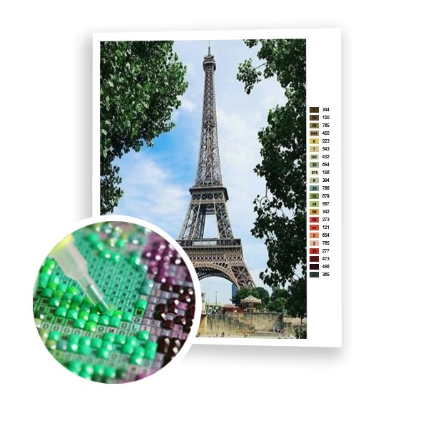 Eiffel Tower - Art of Diamond Painting