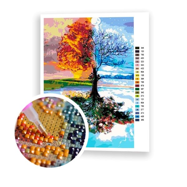 Four Seasons - Art of Diamond Painting