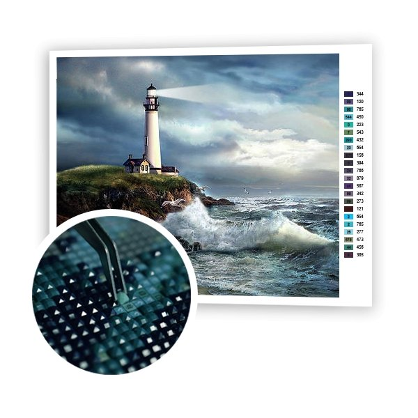 Lighthouse - Art of Diamond Painting