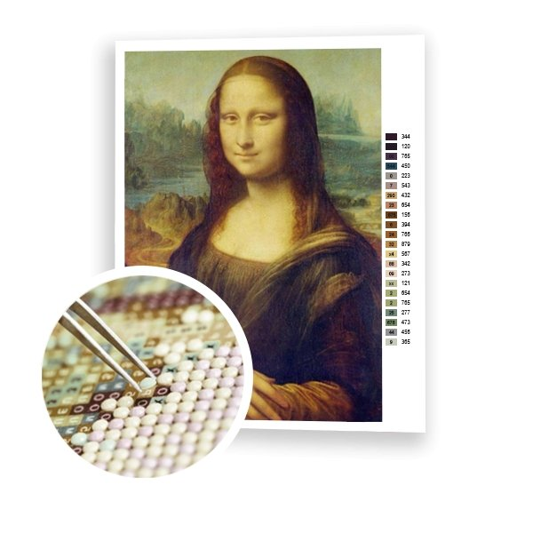 Mona Lisa Smile - Art of Diamond Painting