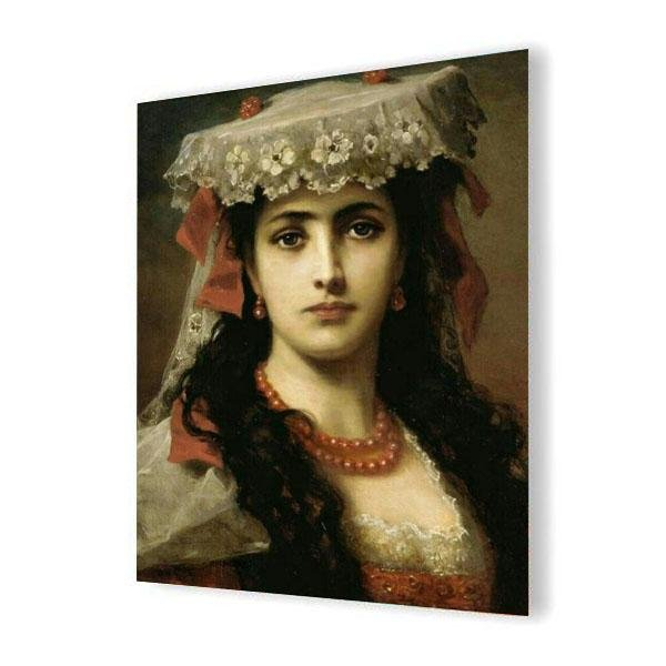 Oil Painting, Woman by Francisco Goya - Art of Diamond Painting