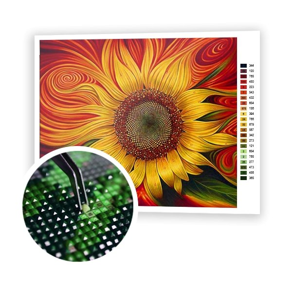Sunflower - Art of Diamond Painting