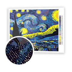 The Starry Night - Art of Diamond Painting