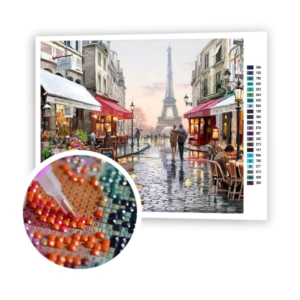 Walk In Paris - Art of Diamond Painting