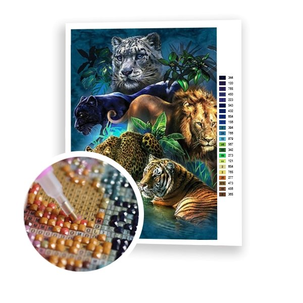 Wild Cats - Art of Diamond Painting