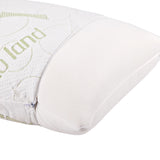 Giselle Bedding Bamboo Fabric Memory Foam Pillows - Set of 2