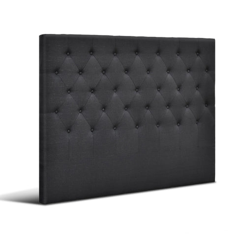Bed Head Board - Charcoal - Double