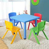 Kids 5pc Table and Chairs Set - Blue