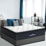 Giselle Bedding 7 Zone Euro Top Mattress - Eve Series - Double