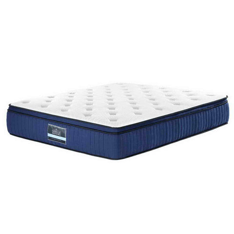 Giselle Bedding 7 Zone Euro Top Mattress - Franky Series - King