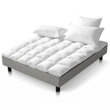 Giselle Duck Feather Down Mattress Topper - Queen