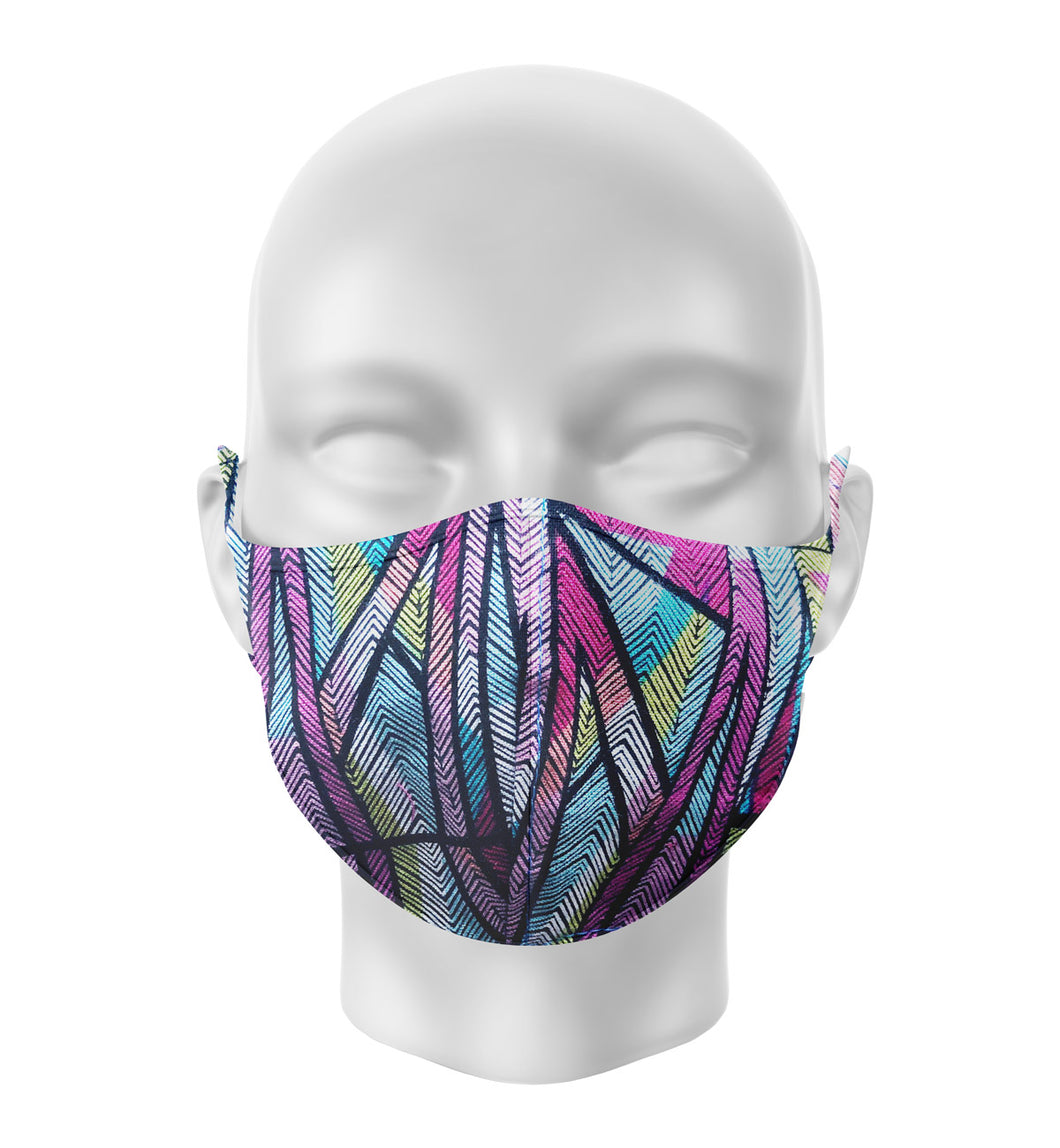 Nubi Tribe Ethnic African Adult Cloth Facial Covering (Mask)