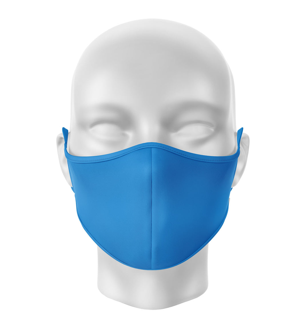 Blue Adult Cloth Facial Covering (Mask)