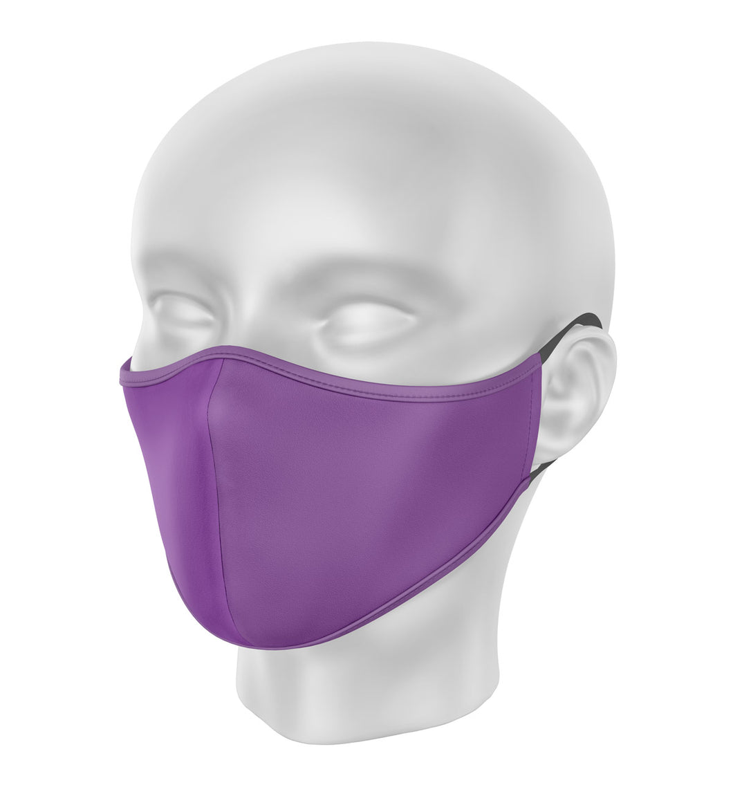 Purple Children's Cloth Facial Covering (Mask)