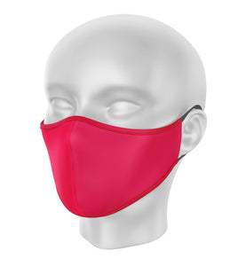 Red Children's Cloth Facial Covering (Mask)