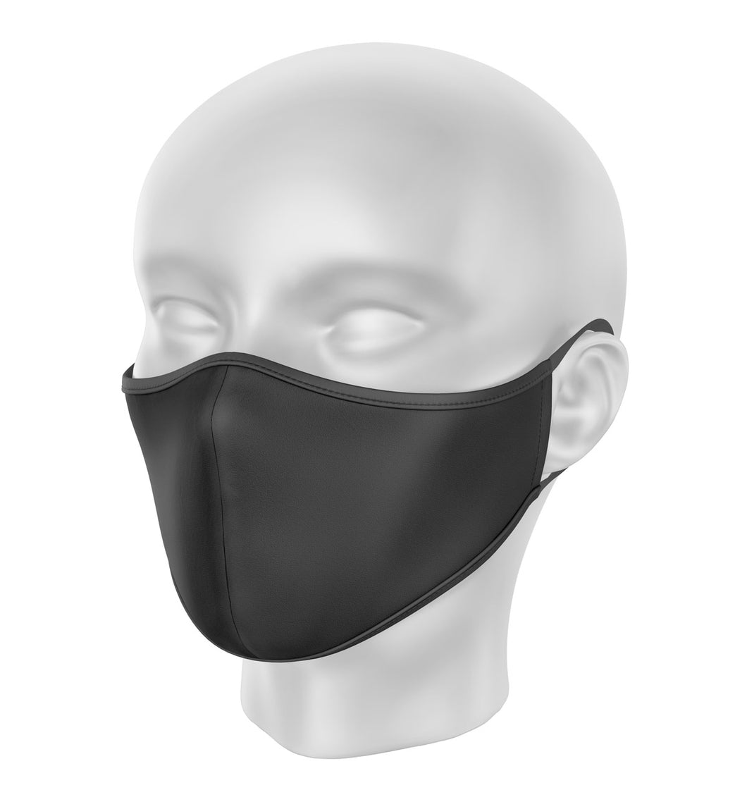 Black Children's Cloth Facial Covering (Mask)