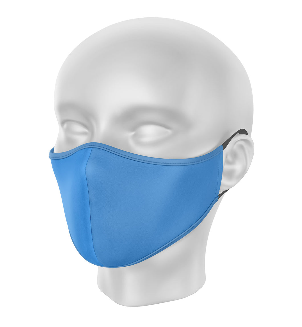 Blue Children's Cloth Facial Covering (Mask)
