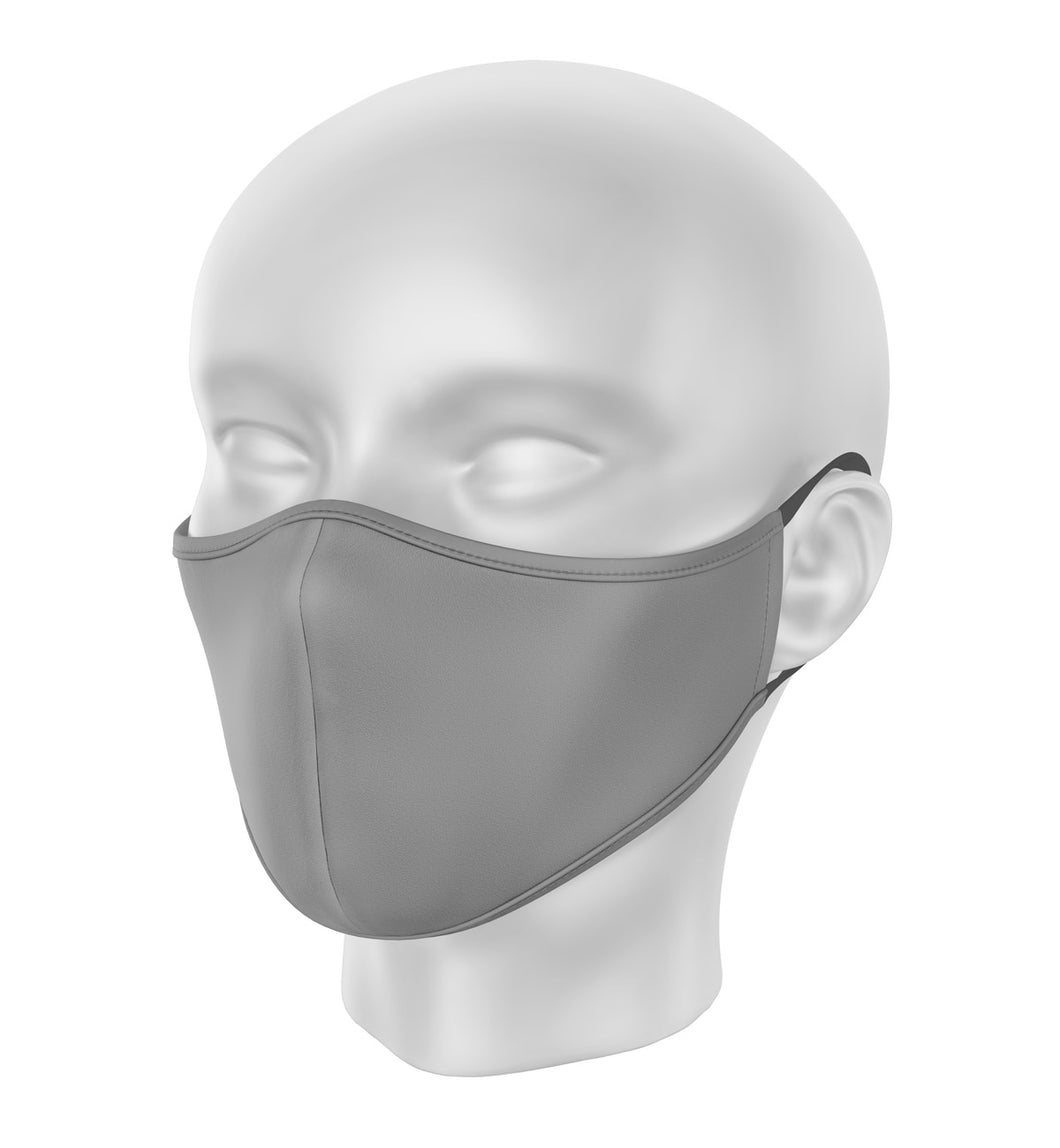 Gray Children's Cloth Facial Covering (Mask)