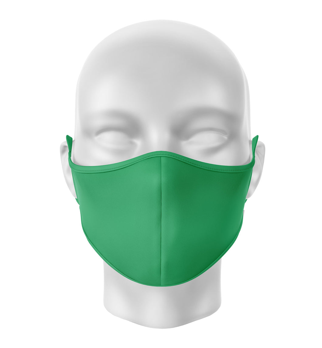 Green Adult Cloth Facial Covering (Mask)