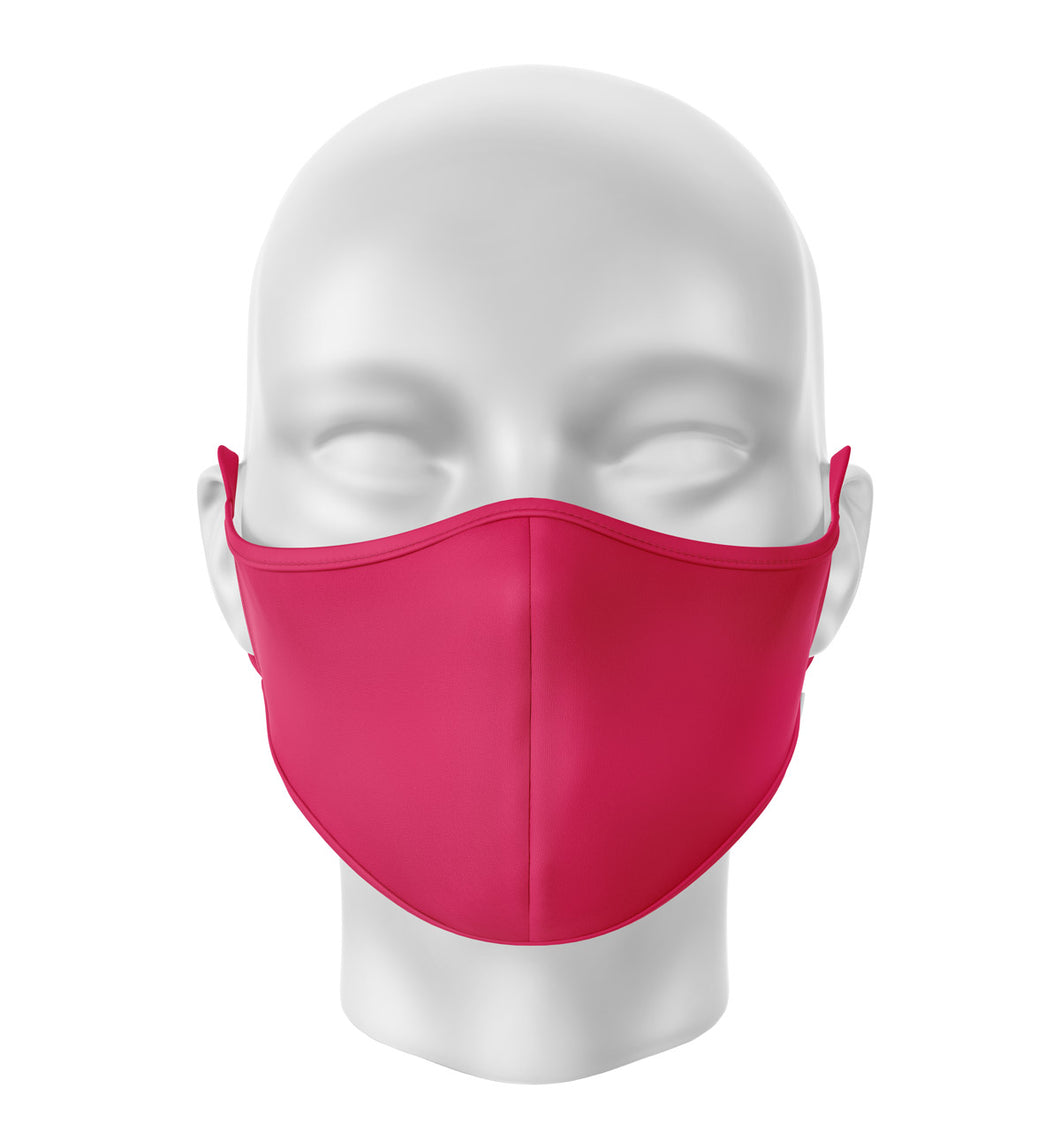 Red Adult Cloth Facial Covering (Mask)