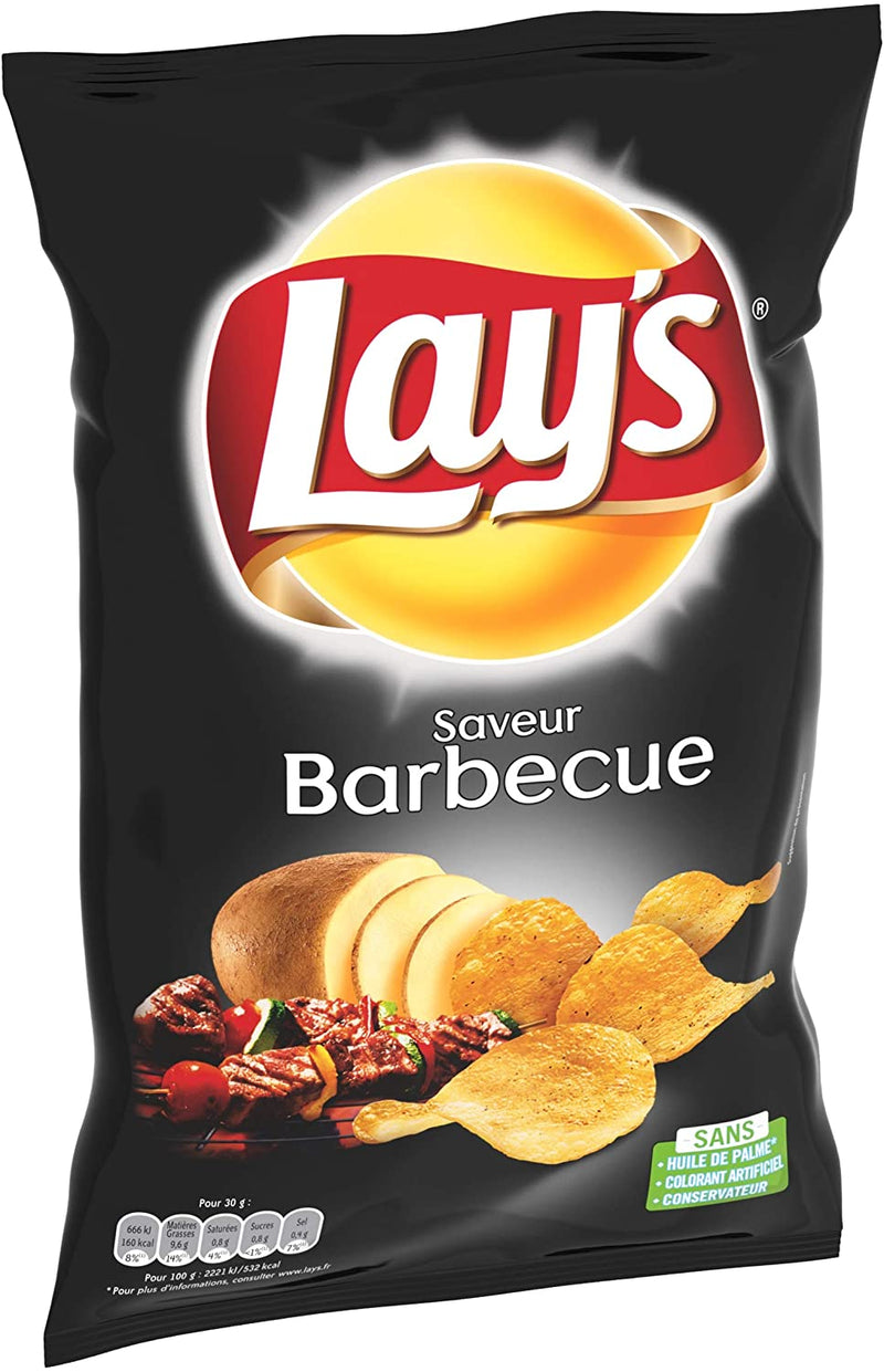 CHIPS BARBECUE 75GRS LAY'S