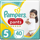 Pack x2 Pampers Pants - Taille 5 X40