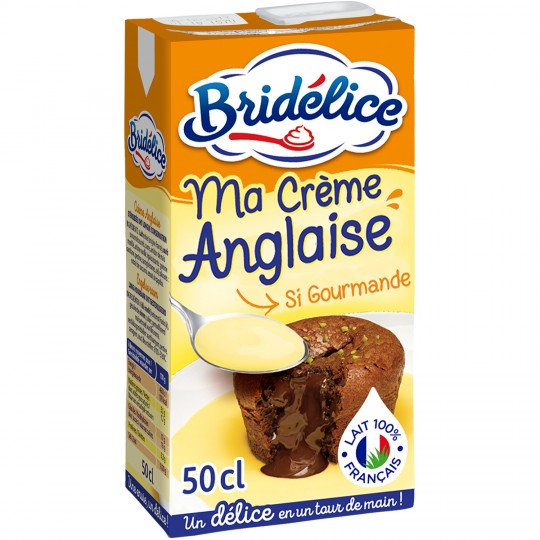 CREME ANGLAISE BRIDELICE 50CL
