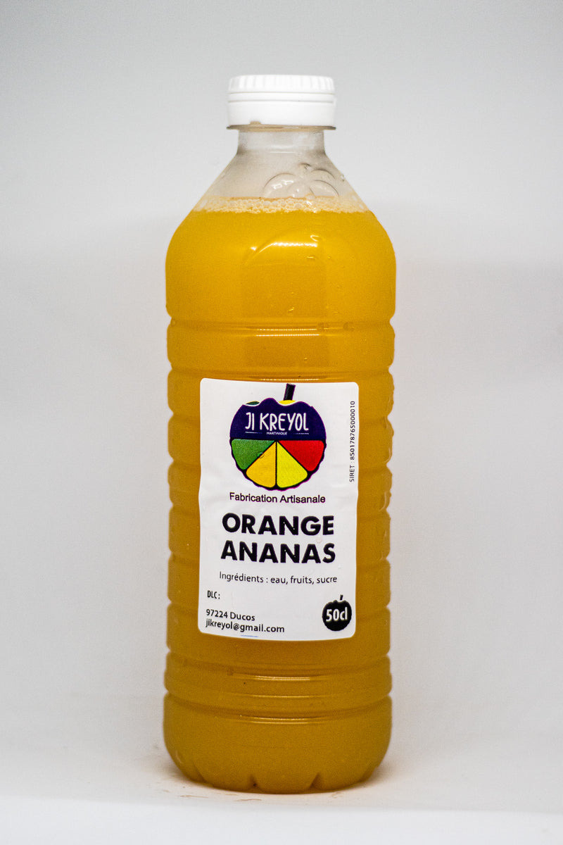 JUS ORANGE ANANAS JI KREYOL 50cl