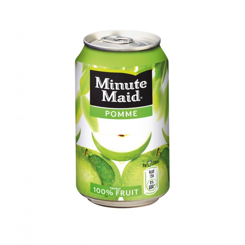 JUS POMME 33CL MINUTE MAID x6