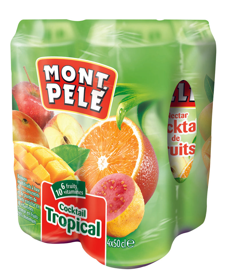 NECTAR COCKTAIL/TROPICAL MONT PELE X4 50CL