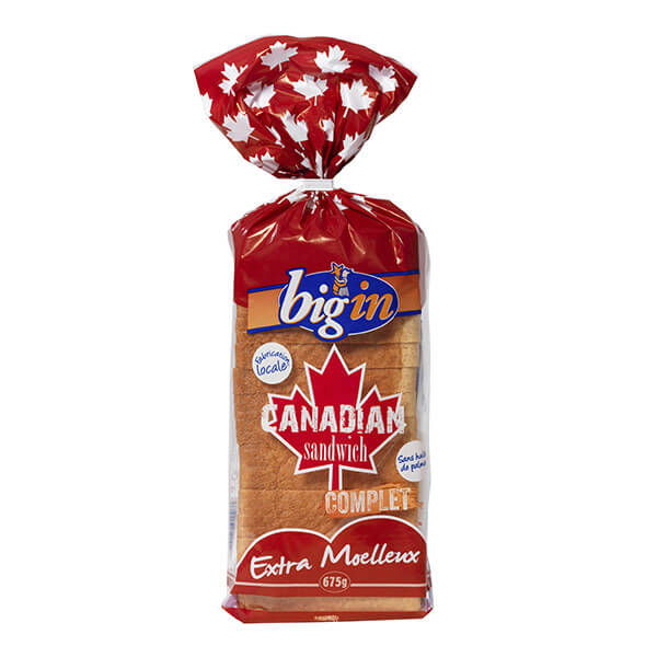 PAIN MIE CANADIAN COMPLET 675G BIGIN