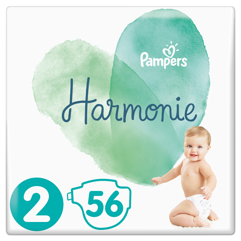 PACK x2 Pampers Harmonie T2 x56