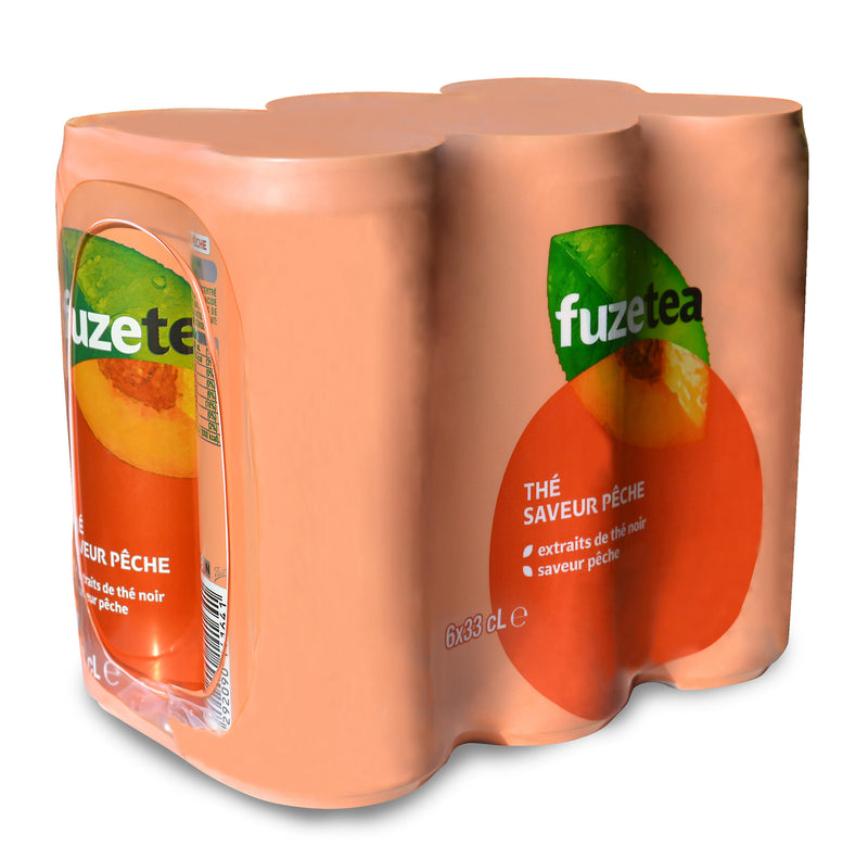 THE/BOISS.GLACE PECHE FUZE TEA 6x 33cl