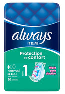 ALWAYS MAXI 20 SERVIETTES