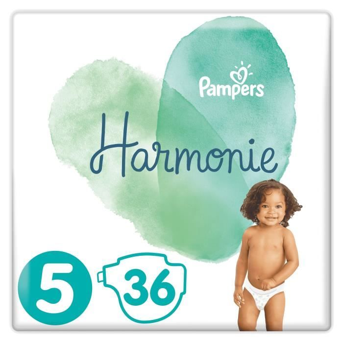 PACK x2 Pampers Harmonie T5 x36