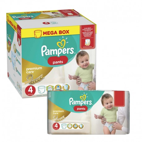 PACK X2 Pampers Premium Pants - Taille 4x45 Jumbo Pack