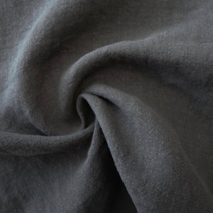 100% Antique Washed Linen - sold by the 1/4 yard - Slate