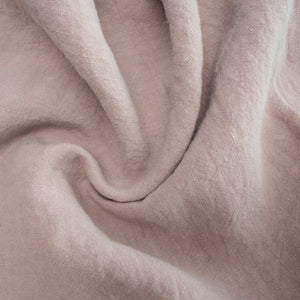100% Antique Washed Linen - sold by the 1/4 yard - Petal