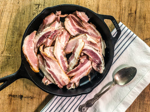 Uncured Hardwood Smoked Bacon Ends 1 lb