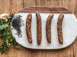 Wild Rice Pre-Cooked Brat (4 links) 12 oz pack