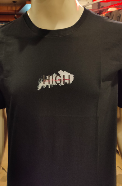 CLUB27 T HIGH BLACK