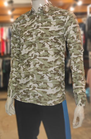 SHIRT ES19-003 LONG CAMO GREEN