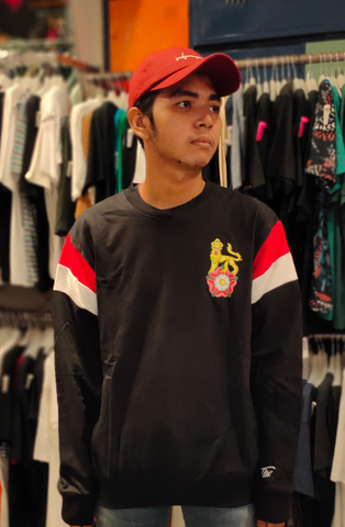 ENDORSE END TB024 SWEATSHIRT SYN LION BLACK R