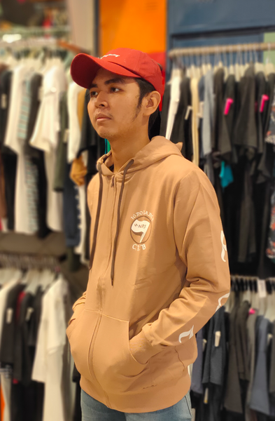 ENDORSE END TB005 HOODIE SYN IGNORANCE BROWN R