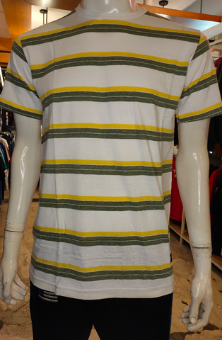 BELIEVE BLV SK008 AMR GREEN YELLOW STRIPE 071119