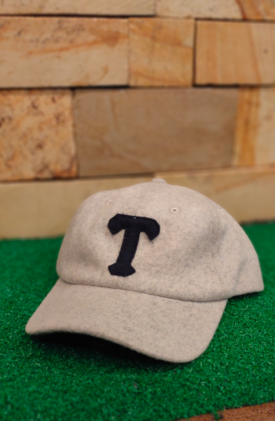 TENDENCIES 19ETND M1109001 MISTY GREY INITIAL T BASEBALL CAP