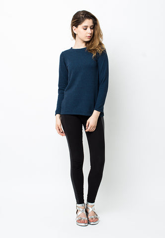 BLP-PB047/SWEATER-R-BIANCA-LONG-DARKBLUE-F
