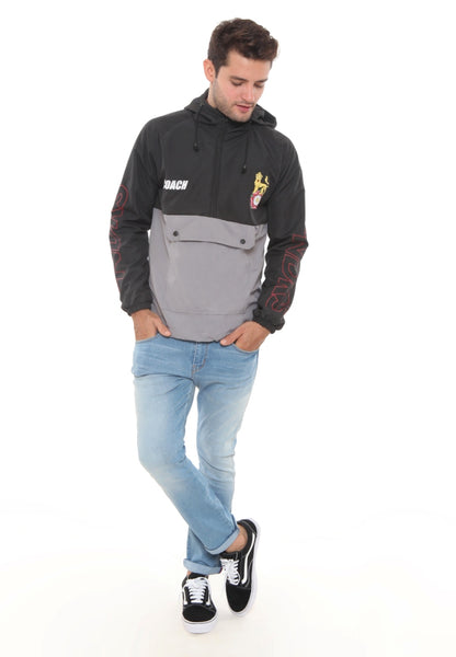 END-RJ004 / JACKET I ANAROK GREY BLACK M