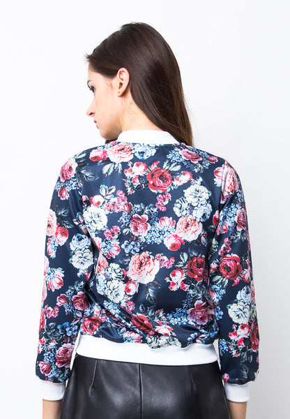 BLP-PA028/JACKET-I-BB-FLOWERS-BLPXXX-BLUE-F