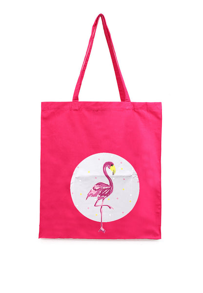 BLP-PB046/BAG-E-TOTE-FLAMINGO-PINK